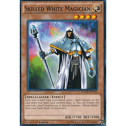 Skilled White Magician - YGLD-ENC20 - Common 1st Edition