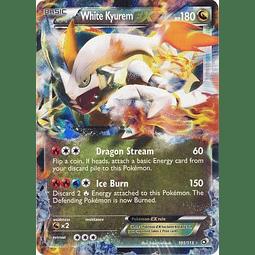 White Kyurem EX - 101/113 - Ultra Rare