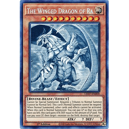 The Winged Dragon of Ra - LED7-EN000 - Ghost Rare 1st Edition