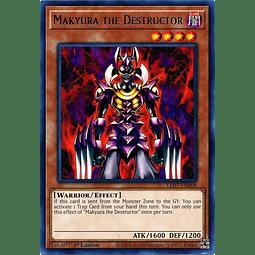 Makyura the Destructor - LED7-EN008 - Rare 1st Edition