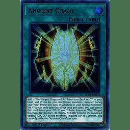 Ancient Chant - LED7-EN004 - Ultra Rare 1st Edition