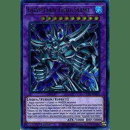 Egyptian God Slime - LED7-EN001 - Ultra Rare 1st Edition