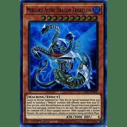 Meklord Astro Dragon Triskelion - LED7-EN016 - Ultra Rare 1st Edition