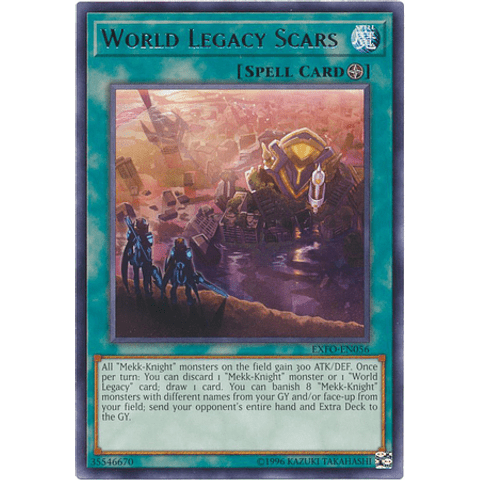 World Legacy Scars - EXFO-EN056 - Rare Unlimited