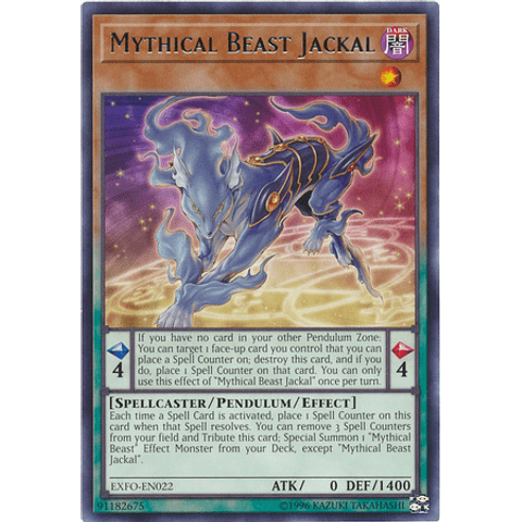 Mythical Beast Jackal - EXFO-EN022 - Rare Unlimited