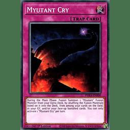 Myutant Cry - PHRA-EN000 - Common 1st Edition