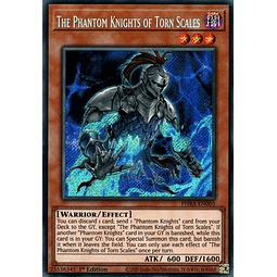 The Phantom Knights of Torn Scales - PHRA-EN003 - Secret Rare 1st Edition