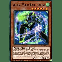 Virtual World Roshi - Laolao - PHRA-EN011 - Super Rare 1st Edition