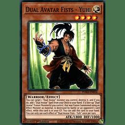 Dual Avatar Fists - Yuhi - PHRA-EN014 - Super Rare 1st Edition
