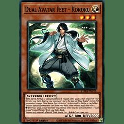 Dual Avatar Feet - Kokoku - PHRA-EN015 - Super Rare 1st Edition