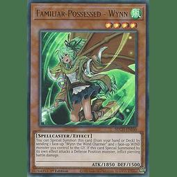 Familiar-Possessed - Wynn (Alternate Art) - SDCH-EN040 - Ultra Rare 1st Edition