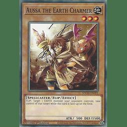 Aussa the Earth Charmer - SDCH-EN001 - Common 1st Edition