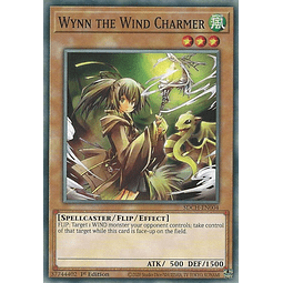 Wynn the Wind Charmer - SDCH-EN004 - Common 1st Edition