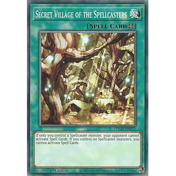 Secret Village of the Spellcasters - SDCH-EN022 - Common 1st Edition