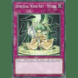 Spiritual Wind Art - Miyabi - SDCH-EN033 - Common 1st Edition