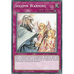 Solemn Warning - SDCH-EN036 - Common 1st Edition