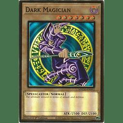 Dark Magician - MAGO-EN002 - Premium Gold Rare 1st Edition