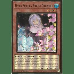 Ghost Sister & Spooky Dogwood (Alt Art) - MAGO-EN013 - Premium Gold Rare 1st Ed.