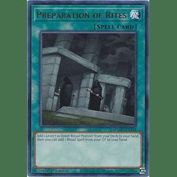 Preparation of Rites - MAGO-EN144 - Rare 1st Edition