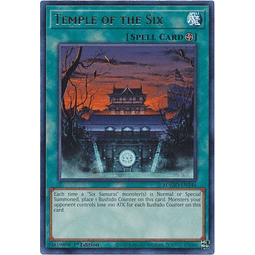 Temple of the Six - MAGO-EN146 - Rare 1st Edition