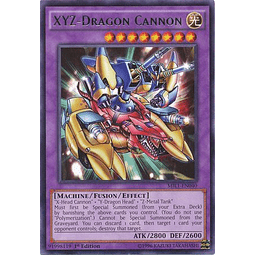 Xyz-dragon Cannon - mil1-en040 - Rare 1st Edition