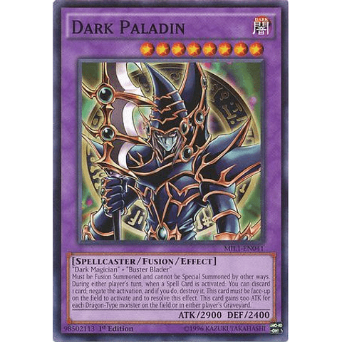 Dark Paladin - MIL1-EN041 - Common 1st Edition
