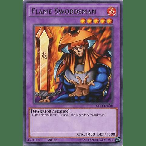 Flame Swordsman - MIL1-EN038 - Rare 1st Edition