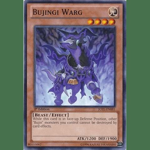 Bujingi Warg -jotl-en081- Common 1st Edition