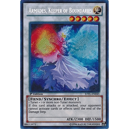 Armades, Keeper of Boundaries - JOTL-EN045 - Secret Rare 1st Edition