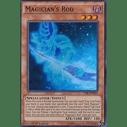 Magician's Rod - TDIL-EN019 - Super Rare 1st Edition