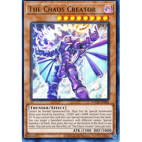 The Chaos Creator - TOCH-EN006 - Collectors Rare Unlimited