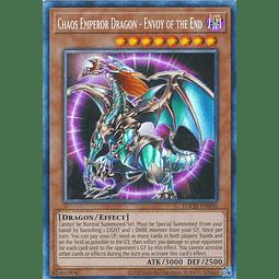 Chaos Emperor Dragon - Envoy of the End - TOCH-EN030 - Collectors Rare Unlimited