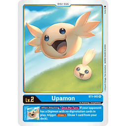 BT1-003 R Upamon Digi-Egg