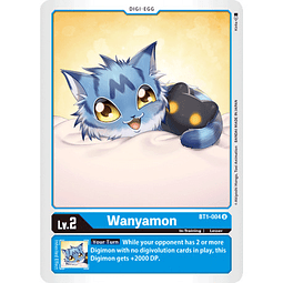 BT1-004 U Wanyamon Digi-Egg