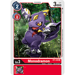 BT1-009 C Monodramon Digimon