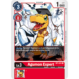 BT1-011 C Agumon Expert Digimon