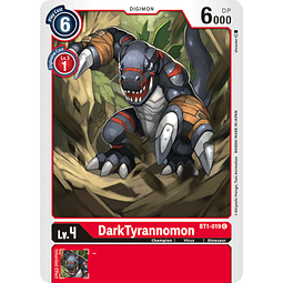 BT1-019 C DarkTyrannomon Digimon