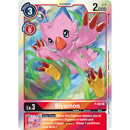 P-002 P Biyomon Digimon