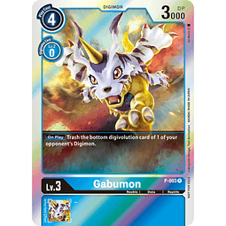 P-003 P Gabumon Digimon