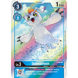 P-004 P Gomamon Digimon