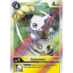 P-006 P Gatomon Digimon