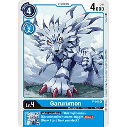 P-007 P Garurumon Digimon