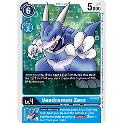 P-011 P Veedramon Zero Digimon