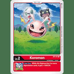 Koromon - ST1-01