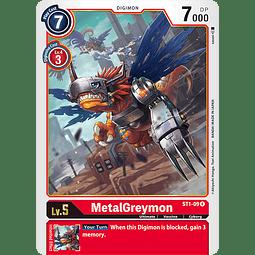 Metal Greymon - ST1-09