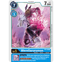 WereGarurumon - ST2-08