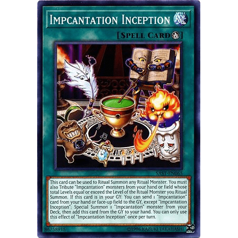 Impcantation Inception -sast-en065- Common Unlimited