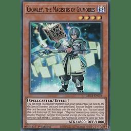 Crowley, the Magistus of Grimoires - GEIM-EN001 - Super Rare - 1st Edition