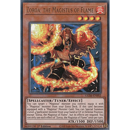 Zoroa, the Magistus of Flame - GEIM-EN002 - Ultra Rare - 1st Edition