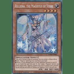 Rilliona, the Magistus of Verre - GEIM-EN003 - Ultra Rare - 1st Edition
